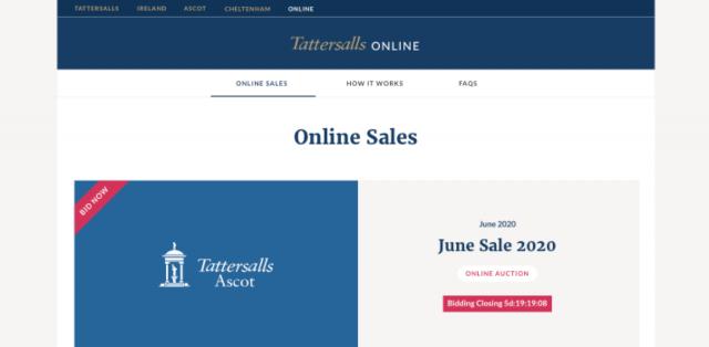 Tattersalls Online